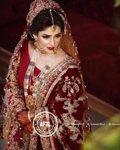 Noor Khan Gorgeous Bridal Look ....