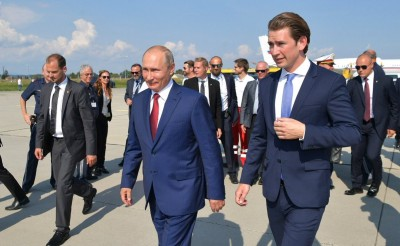 Putin danced with Austrian FM on Her Marriage 10