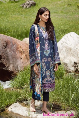 Zara Shahjahan Muskan Luxury Lawn Collection 8