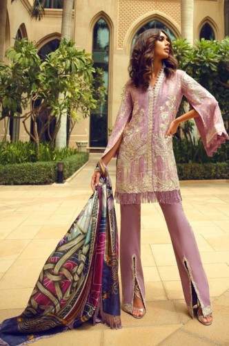 FARAZ MANA READY TO WEAR LUXURY COLLECTION 2018,