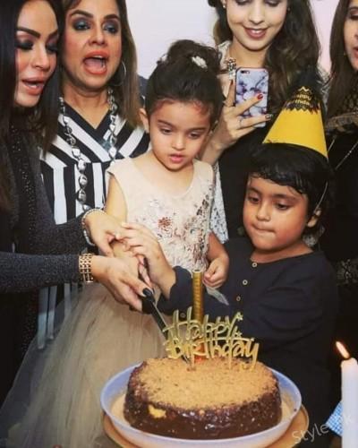 Sadia Imam Celebrated Birthday of Her Daughter 'Meerab'