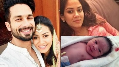 Shahid Kapoor & Meera Rajput Blessed with New Child1