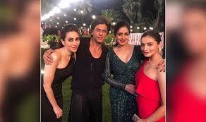 Sri Devi with SRK