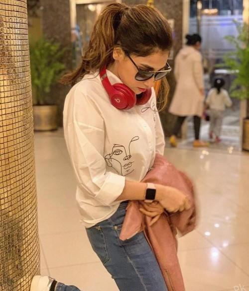 Actress Hina Altaf