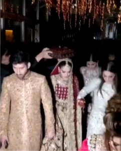 Aiman Khan & Muneeb Butt Wedding