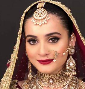 Aiman khan Bride