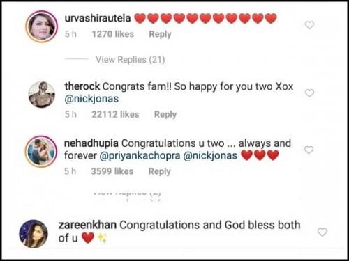 Congrats to Priyanka