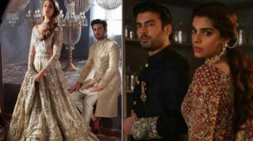 Fawad Khan & Sanam Saeed