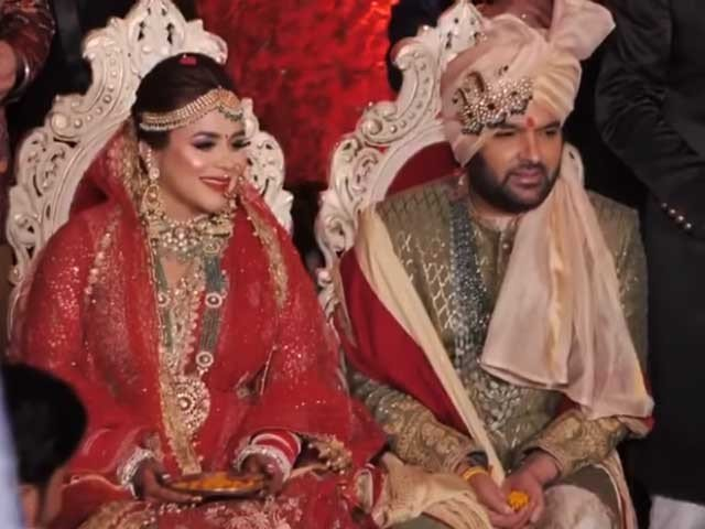 Kapil Sharma Uploaded His Wedding Video On Youtube - Fashion