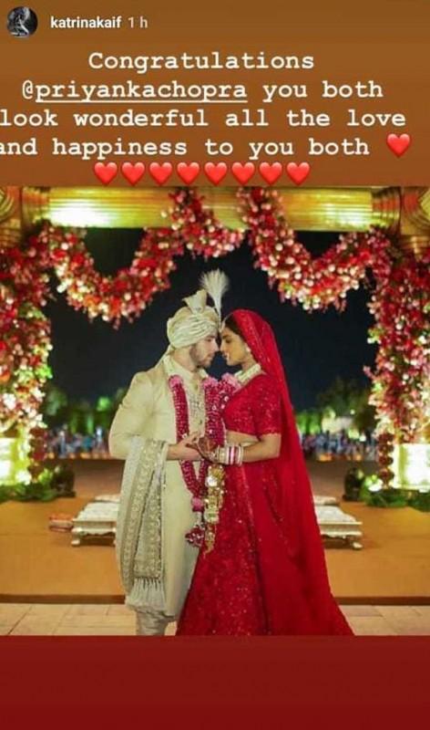 Katrina Congrats to priyanka