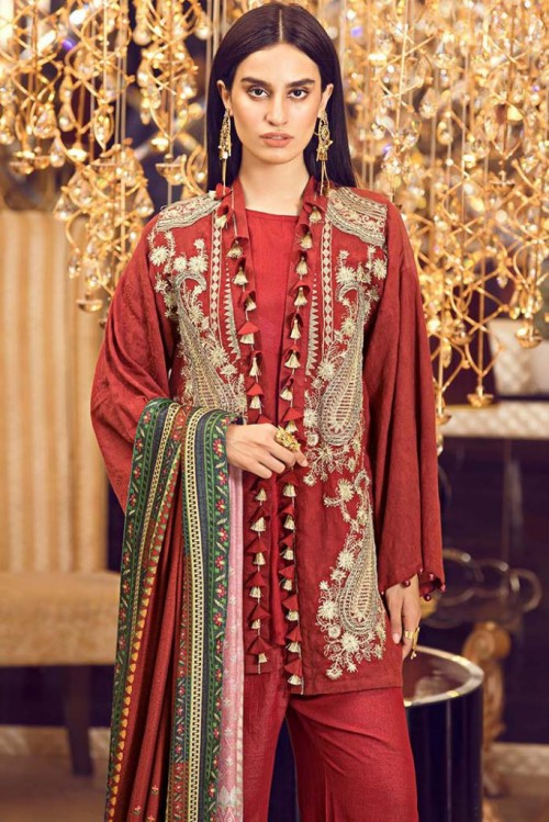 Warda Melange Winter Collection5