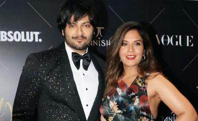 Ali Fazal with Richa Chada