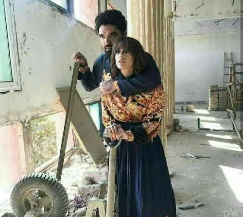 Iqra Azir and yasir Hussain2