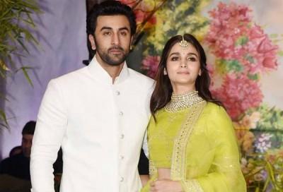 Ranbeer Kapoor with Aaliya Bhatt