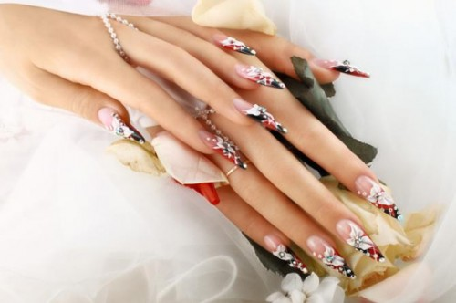nail extensions images