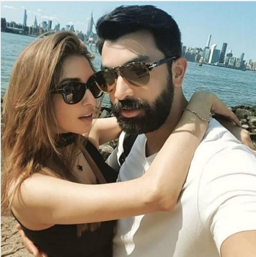 Iman Ali & Her Husband