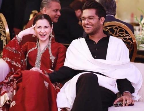Hania and Asim Couple