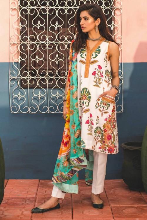 Zara Shahjahan Lawn Stylish