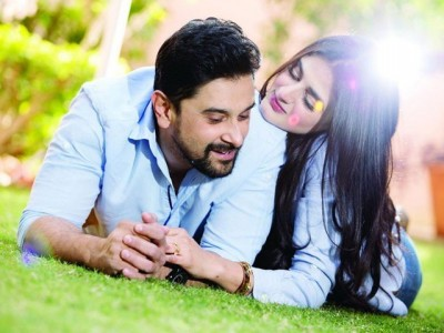 Hira Mani with her Husband