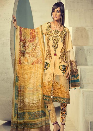 House of Ittehad Signature Series Lawn Collection 2019