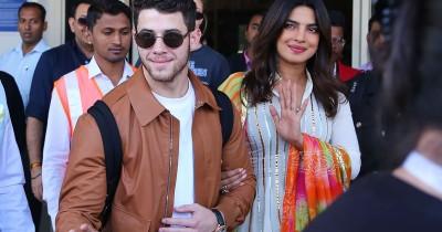 Priyanka with Nick Jones