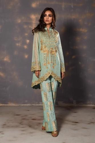 Wardha Saleem latest dresses