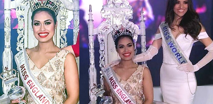 23 year old Indian doctor lady elected 'Miss England'