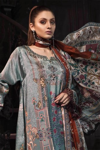 Maria B Winter Silk Collection 2019
