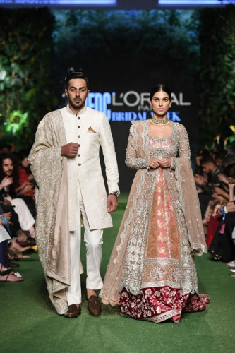 'DILARA' Bridal Dress Collection at PLBW 19 by Sania Maskatiya