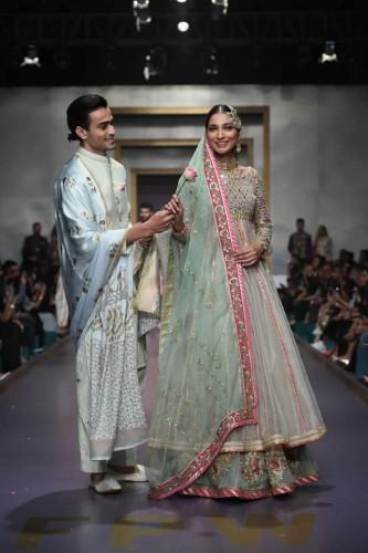 Deepak Perwani Bridal collection