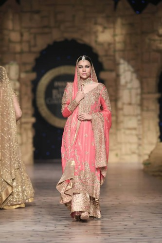 Honey Waqar Bridal Couture Week Collection 2019