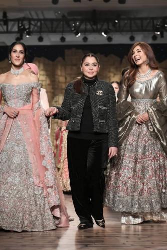 Honey Waqar Bridal Lehnga Collection 2019