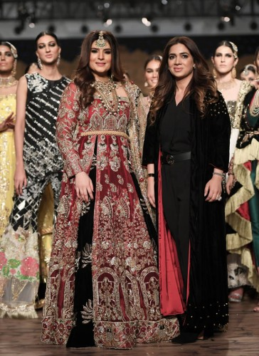 Reema Ahsan at Fashion Show