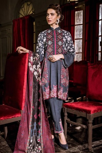 Cross Stitch Dresses Khaddar Collection 2020