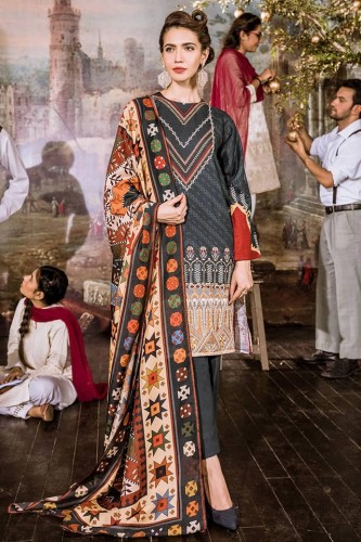 New Khaddar Cross Stitch Dresses 2020