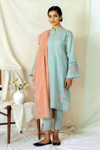 Zara Shahjahan Embroidery Lawn